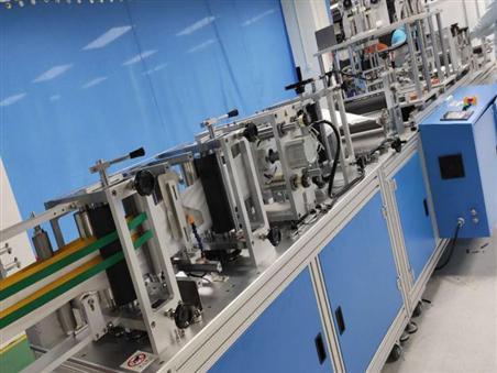 KN95平面口罩机专用五金零件的加工流程